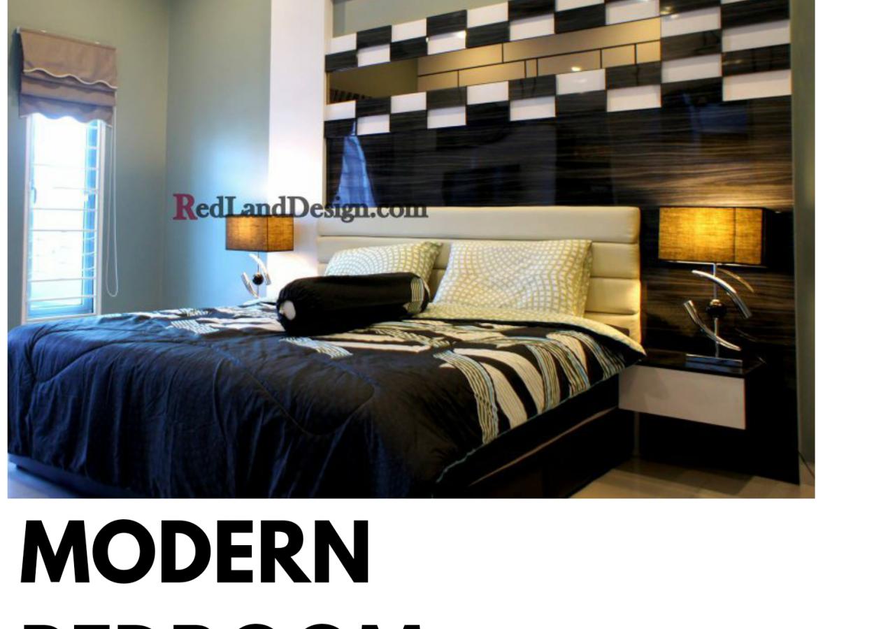 MODERNIST BEDROOM DESIGN