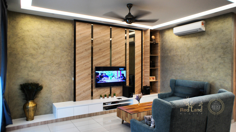 Le Greene Living TV Design