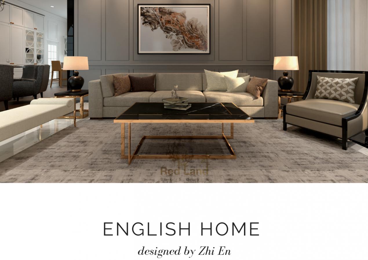 ENGLISH HOME INTERIOR DESIGN, IPOH