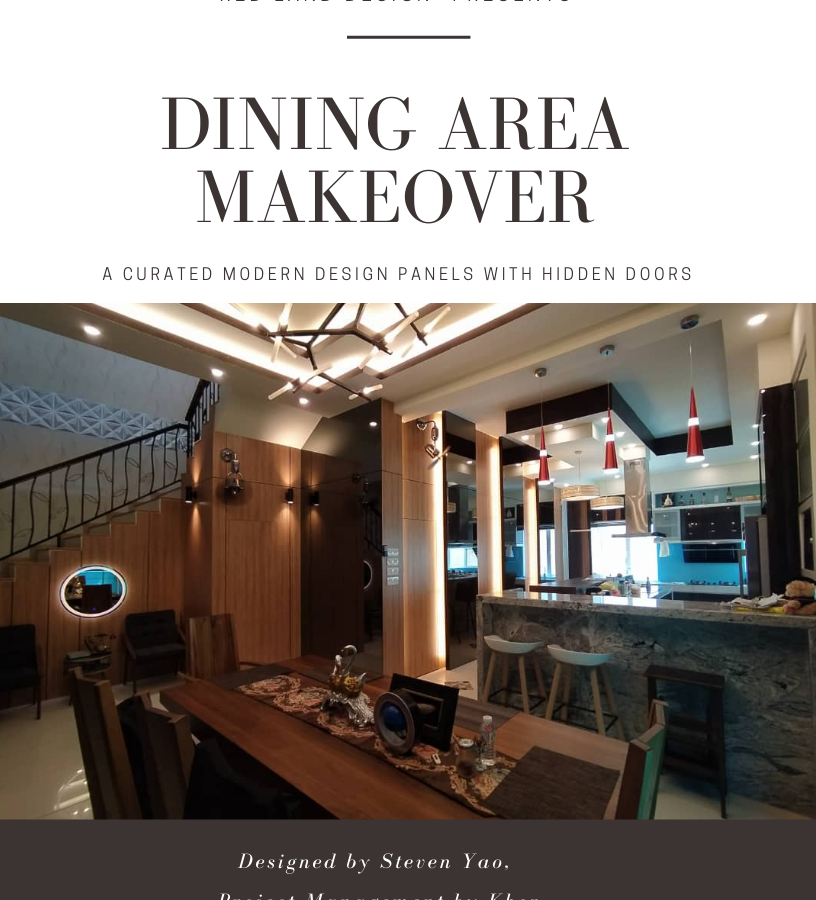DINING MAKEOVER, LAHAT MINES